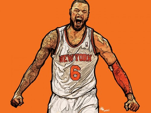 Tyson Chandler 'ROAR' Art