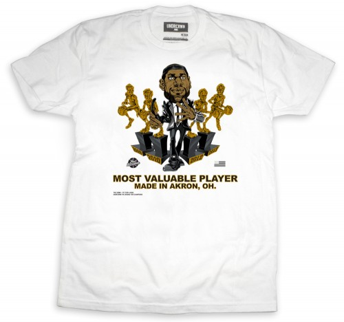 Freshly Dipped: UNDRCRWN 'Made In Akron' Caricature Tee