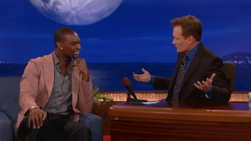 Chris Bosh Talks Photobombs With Conan O'Brien