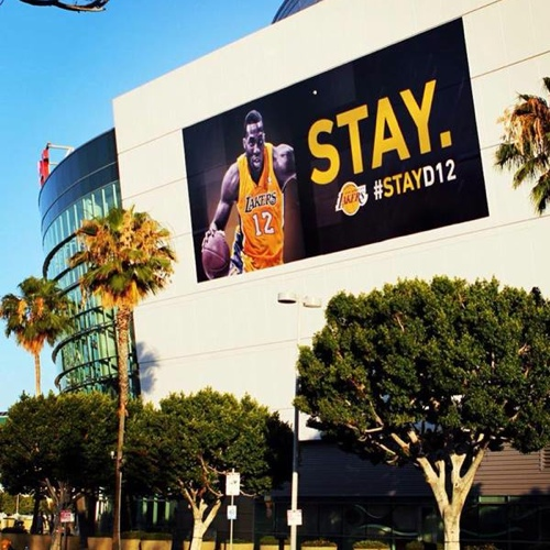 The Lakers Campaign To Keep Dwight Howard Begins