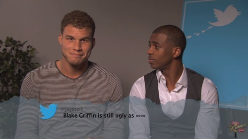 Players Reading Mean Tweets For Your Enjoyment