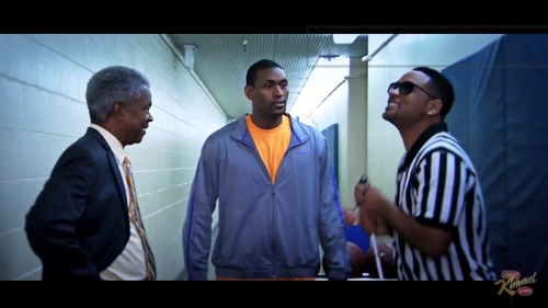 Will Smith and Metta World Peace 'Blind Ref' Movie Trailer