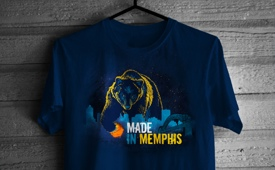 Freshly Dipped: Grizzlies 'Made In Memphis' Tee