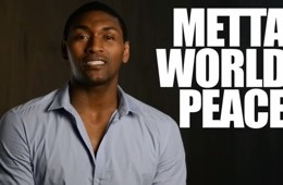 Metta World Peace for PETA