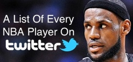 A List Of Every NBA Player On Twitter