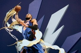 Tyson Chandler 'Glitter and Gold' Art
