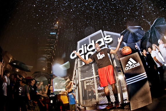 adidas Dwight Howard Taiwan Tour Photos