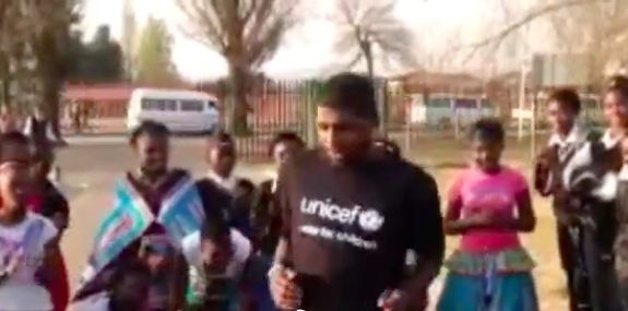 Kyrie Irving Getting Down In Soweto