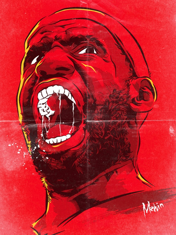 Lebron James 'Primal Roar' Comic Book Style Art