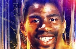 Magic Johnson Digital Painting