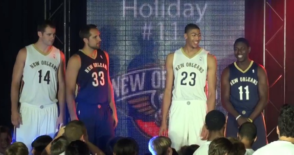 New Orleans Pelicans Uniform Unveiling
