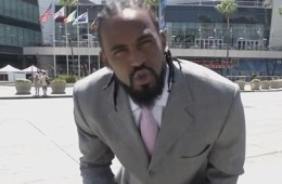 Ronnie Turiaf Jumps Over A Monster Truck