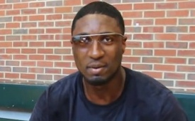 The Roy Hibbert Google Glass Experience