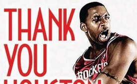 Tracy McGrady Thanks Toronto, Orlando and Houston