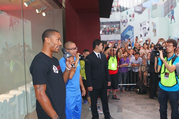 adidas D Rose 2013 Asia Tour Photos