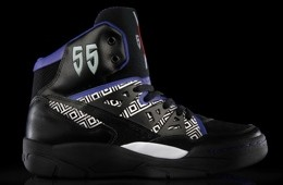 adidas Originals Mutombo Purple and Black Colorway
