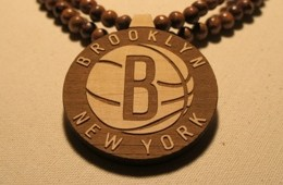 Brooklyn Nets Beaded Necklace