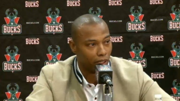 Caron Butler Sheds Tears Of Joy In Bucks Press Conference
