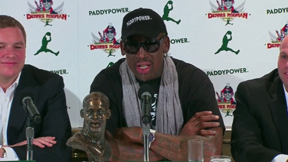 Dennis Rodman Will Train The North Korea Basketball Team