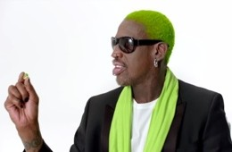 Dennis Rodman Wonderful Pistachios