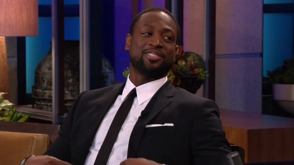 Dwyane Wade On The Tonight Show With Jay Leno
