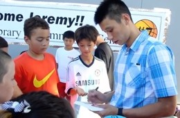 Jeremy Lin Helped To Open A New Court In Palo Alto