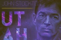 John Stockton Franchise Legend Art