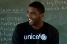 Kyrie Irving Battle Dances School Boy Is South Africa