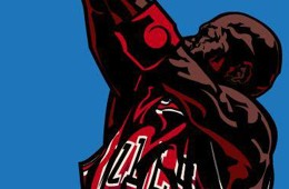 Michael Jordan 'Bombardment' Art
