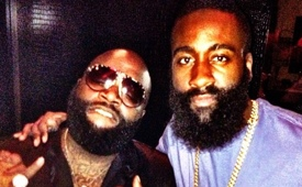 Rick Ross x James Harden x Beard Awesomeness