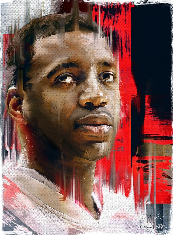 Tracy McGrady Digital Painting
