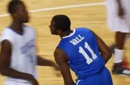 John Wall Drops 40 At Kentucky Wildcats Alumi Game