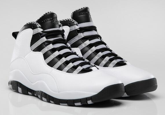 Air Jordan 10 'Steel' Colorway