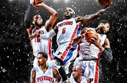 Detroit Pistons '2013-2014 Season Tickets' Art