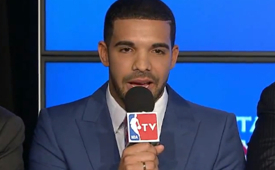 Raptors Hire Drake As Global Ambassador