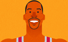 Dwight Howard Character Design