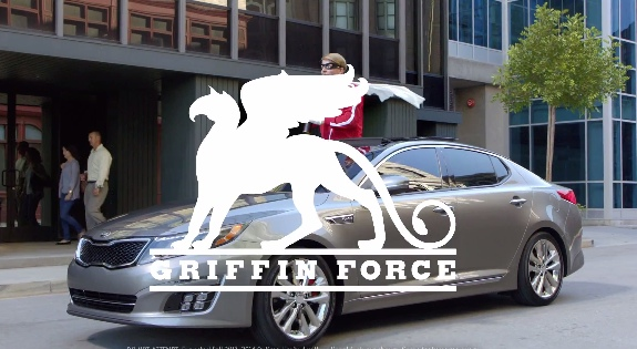 Blake Griffin 'Griffin Force' Kia Commercial