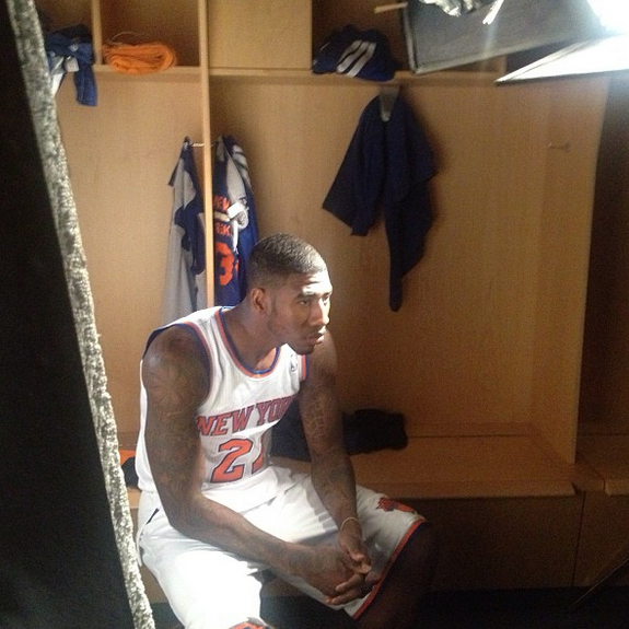 Iman Shumpert Cut His High Top Fade