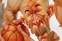 Jason Kidd Caricature Illustration