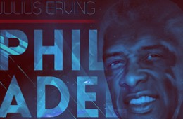 Julius Erving Franchise Legend Art