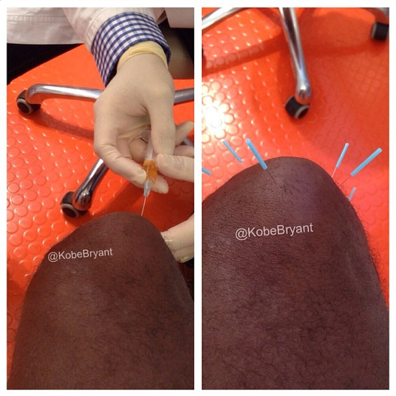 Kobe Bryant Posts Some Pics Of His Procedure In Germany
