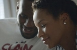 LeBron James 'At Home' Samsung Commercial