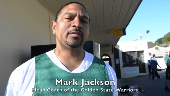Mark Jackson and Warriors Front Office Play Pick-Up At San Quentin Prison
