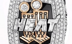 The Miami Heat Receive Championship Rings