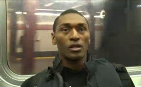 Metta World Peace Took the Subway to the Knicks Game
