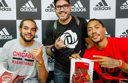 Derrick Rose and Joakim Noah Character Design