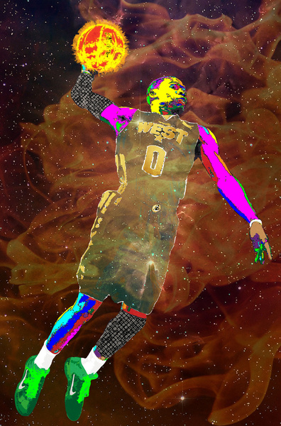 Russell Westbrook Pop Art
