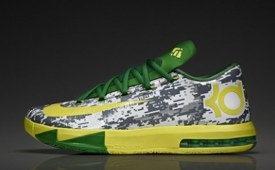 Nike KD VI 'Armed Forces Classic' Oregon Colorway