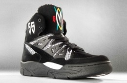 adidas Mutombo Black / White Colorway