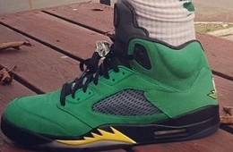 Air Jordan 5 'Oregon Ducks' Edition